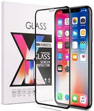 iPhone XR Full Tempered Glass 11D by Tel, Ultra Clear, Zero Bubbles, Sensitive Touch,9H Hardness, Anti-Scratch, Anti Oil Stains & Full Glue Tempered Mobile Screen Protector - EZELLER