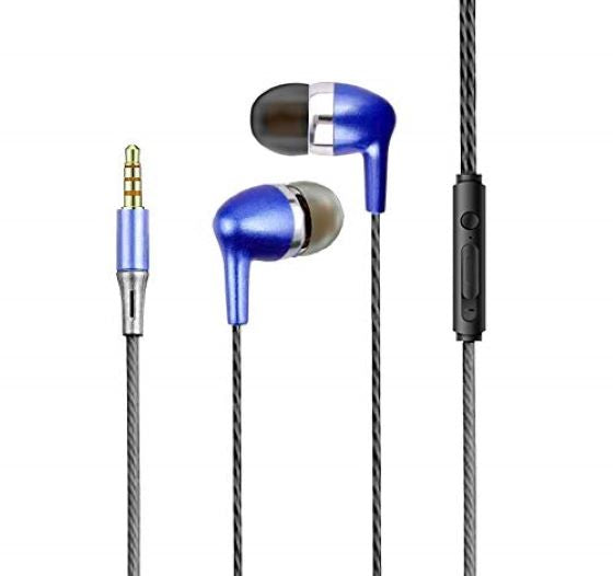 Surround Beats Music Earphones with Mic 3.5mm Pin Compatible with All Android Mobile PhonesEZ469 - EZELLER