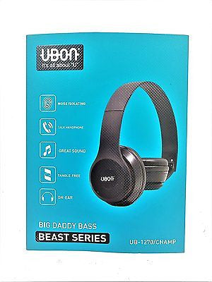 Big Beats series - DJ Sports headset with MIC - For Mobiles, Tablets & PCez042-black - EZELLER