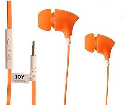 Head phone ear phone Universal supported Head phone with MIC EZ039-orange - EZELLER