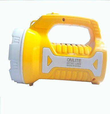 EZ Light Powerful Outdoor 2 -in-1 LED Torch & Lantern Flashlight  EZ066-yellow - EZELLER