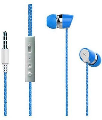 BS Power head phone ear phone  Headphone with MICEZ031-Blue - EZELLER