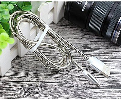 Data Cable Metal Magnificent Classy series - Metal Micro USB Cable EZO40-GRAY - EZELLER
