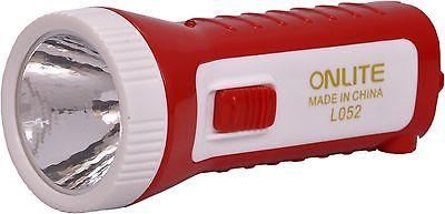 EZ Light Powerful Outdoor Torch & Lantern Flashlight  EZ066-Red - EZELLER