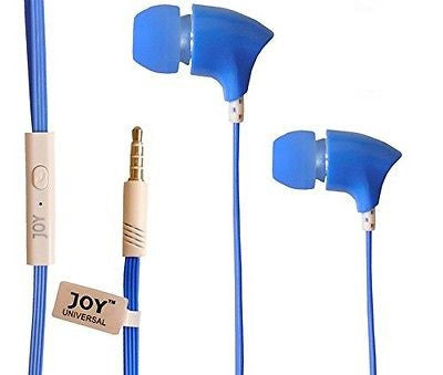 Head phone ear phone  Universal supported Head phone with MIC EZ039-blue - EZELLER