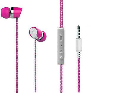 BS Power head phone ear phone Headphone with MIC EZ031-Pink - EZELLER