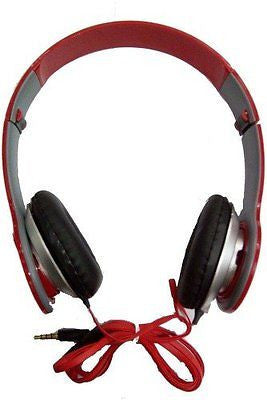 UBON Head set RED Music Master Series-Headset with MIC ez043-red - EZELLER
