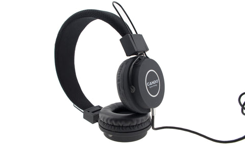 CANDO J100i on Ear Head Phone EZ092-Black - EZELLER