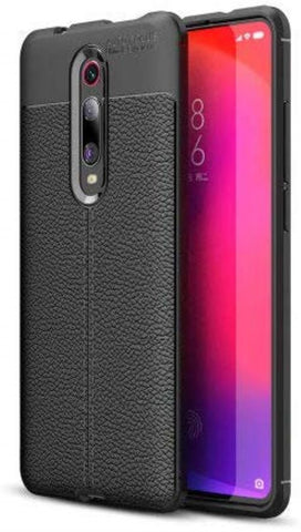 REDMI K20  Case/Cover Look Back Case [Leather Texture Design-100 Import] Rugged TPU Material Slim Fit Flexible Lightweight Shock Protective Back Cover for REDMI K20 PRO-EZ327 - EZELLER