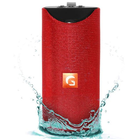 TAGER Rugged Bluetooth Speaker Splash Proof with FM Radio Plug & Play USB Slot SD Slot & AUX inn EZ487