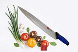 Guns Ceramic Knife Chef Sashimi Paring Knife Sharp 8 Inches Long Knife with Durable Non-Slip Grip Handle for Cutting Slice Paring Steak Meat Chicken Cheese Vegetable Fruits EZ624