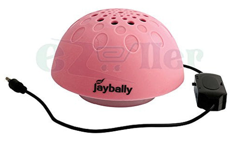 Jaybelly Speaker 3.5 mm Universal supported Wired Stereo Speaker EZ048-pink - EZELLER