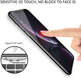 iPhone 11 Full Tempered Glass 11D by Tel, Ultra Clear, Zero Bubbles, Sensitive Touch,9H Hardness, Anti-Scratch, Anti Oil Stains & Full Glue Tempered Mobile Screen Protector - EZELLER