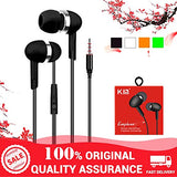 KIN Doom Bass Earphone with Mic Headphone with 3.5mm Jack Universal Supports All Smartphone - EZELLER