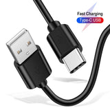 Type C Data Cable with 3.4 A Output Pure Copper Wires 1 Meter Length Compatible with Android Mobiles