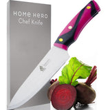 Large Kitchen Knife (2 Packs) 9 Inches (Chief Knife + Butcher Knife) EZ477