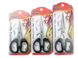 Ritcot Elite Rugged Multi-Purpose Stainless Steel Scissors Pack of 3 Combo Thick Blades and Moulded Handle for Long Lasting Life for Home, Office, Kitchen Etc.