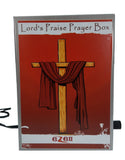 eZell Lord's Praise Prayer box Christianity 7N1 Prayer Kit Metal Chant Box Repeater For  Deep Spiritual Meditation Blessings & Healings EZ692