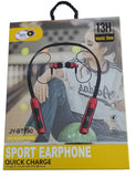 Sporty Earphone with Quick Charge 1 Minute Charge 2 Hours Talk time Sweat Proof for All Smartphones, Tablets, Computers etc. - EZELLER