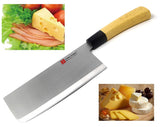 Guns Ceramic Meat Cleaver Knife 7 Inches Sharp for Cutting Slice Dice Steak Meat Chicken Cheese Vegetable Fruits EZ628