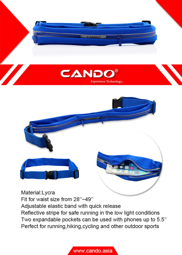 CANDO RX 100 Sports Pro Hip Band EZ095-Blue - EZELLER