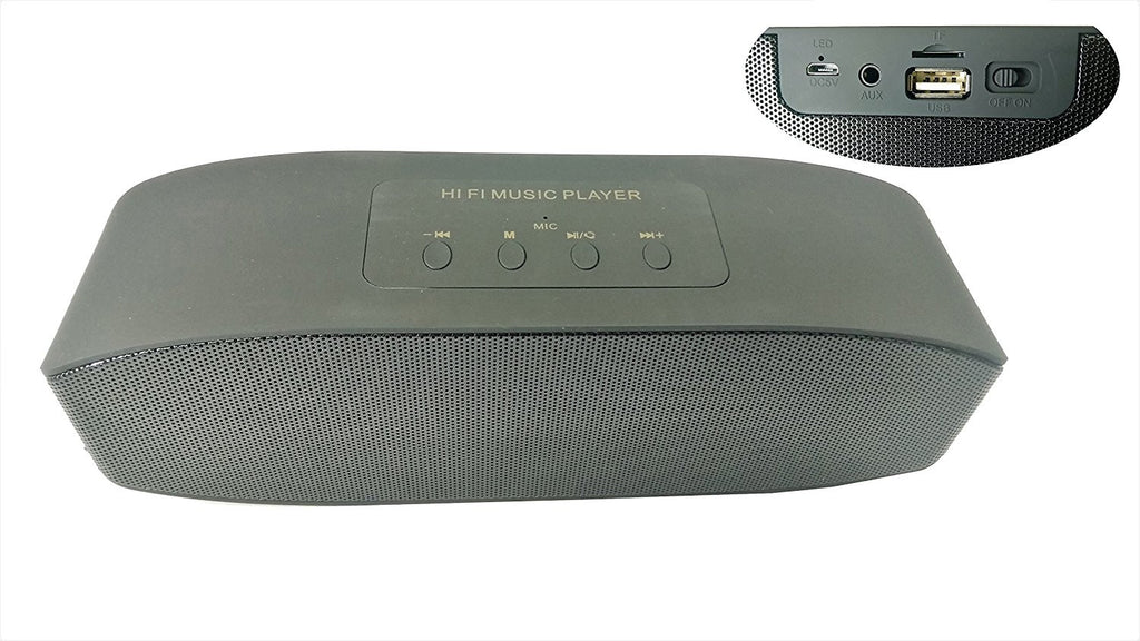 SPEAKER SOUNDLINK MINI PBluetooth Music Player with MIC- EZ179-Carbon Black - EZELLER