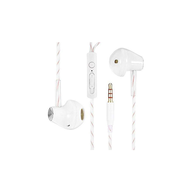 KIN Fashion Sport Earphone with Mic & Volume (-/+) Gold Plated 3.5 mm Jack - EZELLER