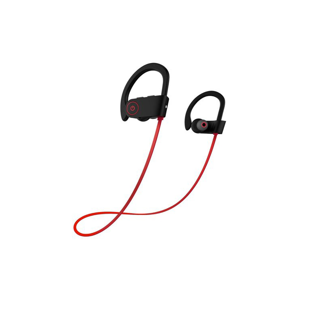 EZ-TECH Sports Bluetooth Earphone with Mic EZ307 RED - EZELLER
