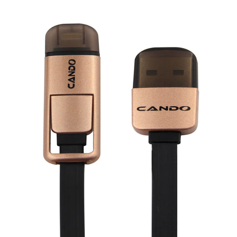 CANDO M-36 - LED Micro Usb Cable EZ093-Black - EZELLER