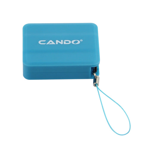 CANDO A049 Telescopic Micro Usb Cable EZ089-Blue - EZELLER