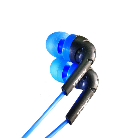 Earphone with MIC EZ240 Blue Black - EZELLER