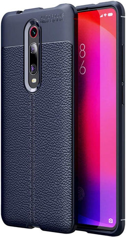 REDMI K20 Case/Cover Look Back Case [Leather Texture Design-100 Import] Rugged TPU Material Slim Fit Flexible Lightweight Shock Protective Back Cover for REDMI K20 -EZ327