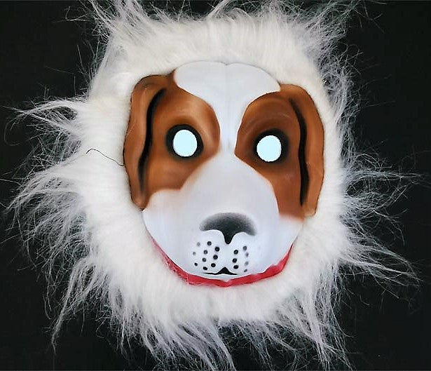 Mask DOGGY PUPPY HEAD MASK - EZELLER