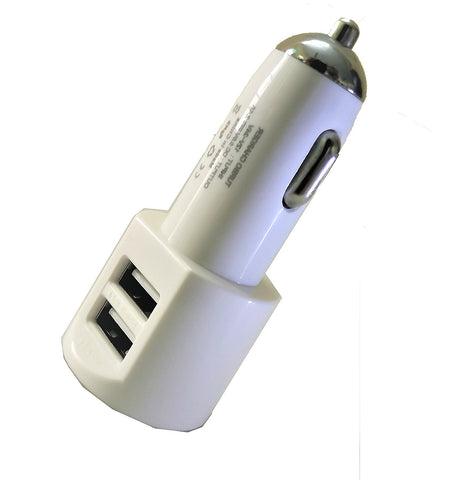 FAST DUAL CAR CHARGER  HI speed dual USB charging adaptor-EZ206 - EZELLER