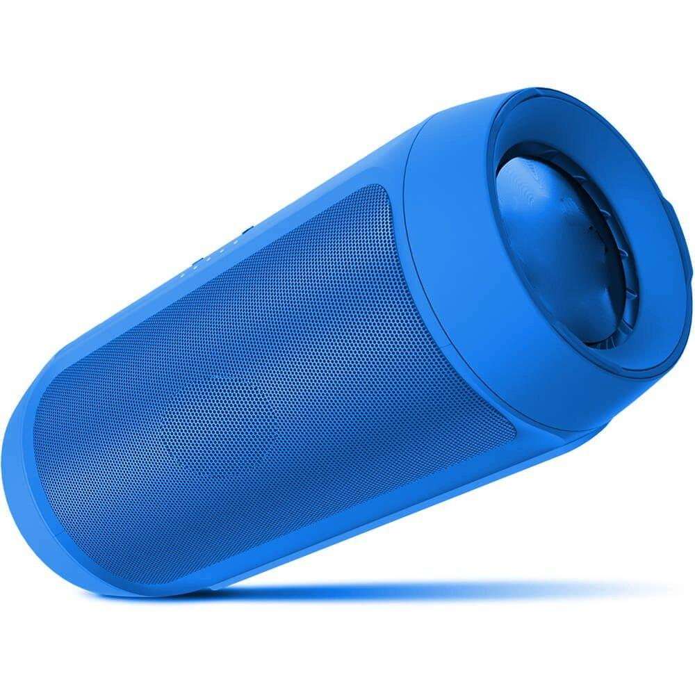 Portable wireless Bluetooth Dual speaker EZ232 -BLUE - EZELLER