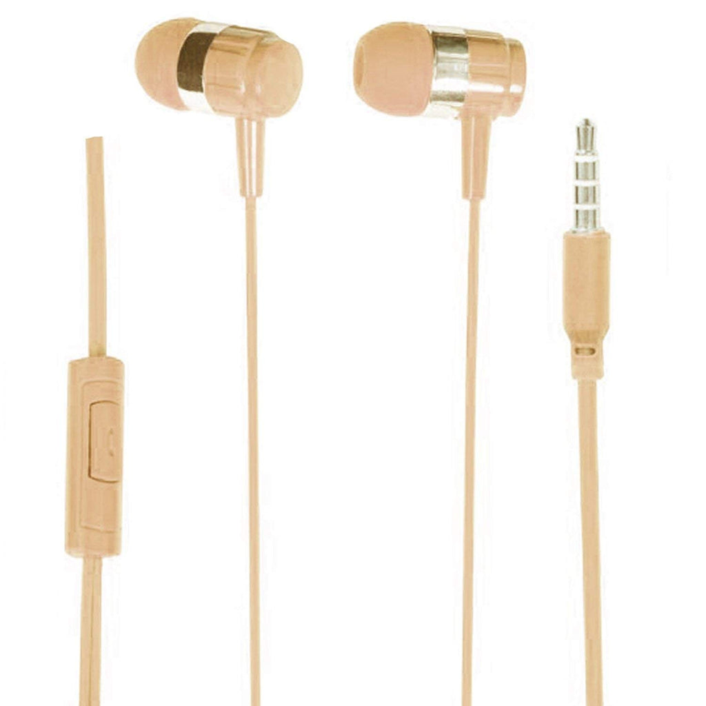 Mobile Accessories Sale/Shot Gun Bass Earphone with MicEZ265 GOLD FAWN - EZELLER