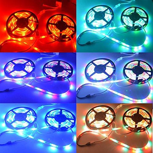 LED Strips With Remote Controller 5 Meters , 3M Sticker type, Water & Dust Resistant EZ280 - EZELLER