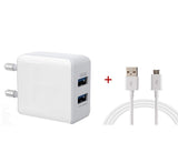 Joy Mobile Charger 3.1 A | Dual USB Port Turbo fast Charger Micro USB B type - EZELLER