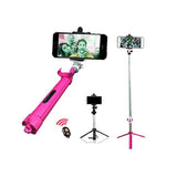 Freedom Sale/Hi-tech Rugged Selfie Stick (3n1) Bluetooth Selfie Stick - EZELLER