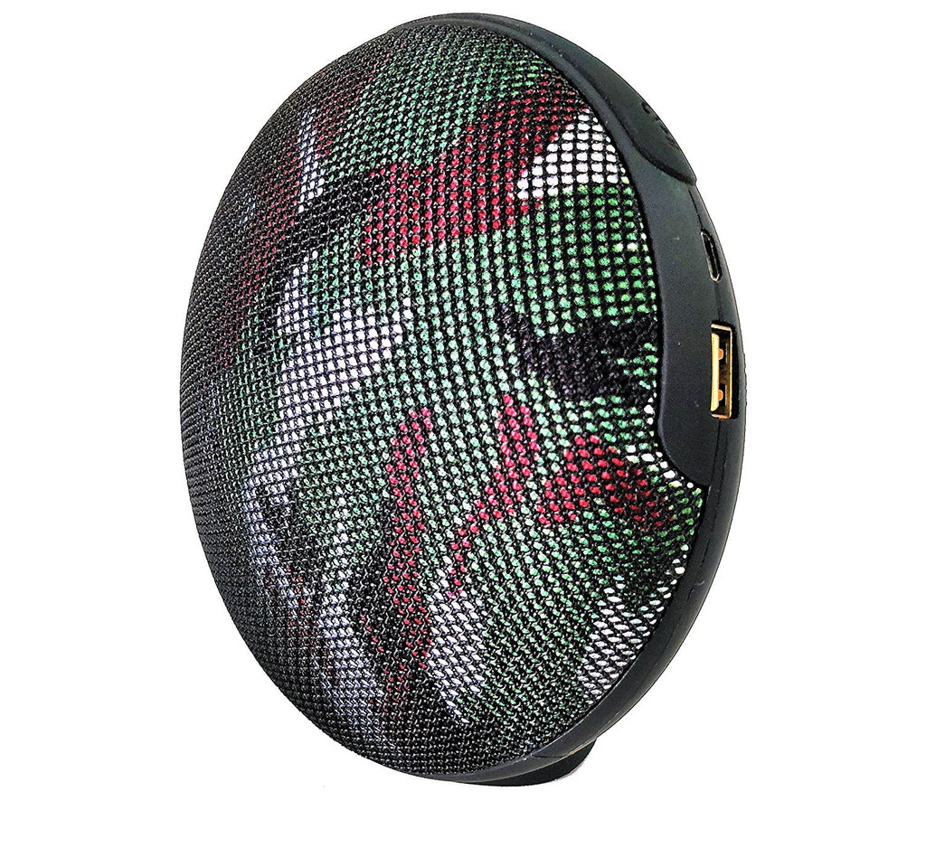 Doom Studio Portable Bluetooth Speaker with Subwoofer EZ300-Camouflage - EZELLER
