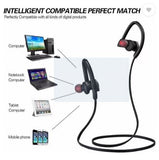 EZ-TECH Sports Bluetooth Earphone with Mic EZ307 (Black, Universal) - EZELLER