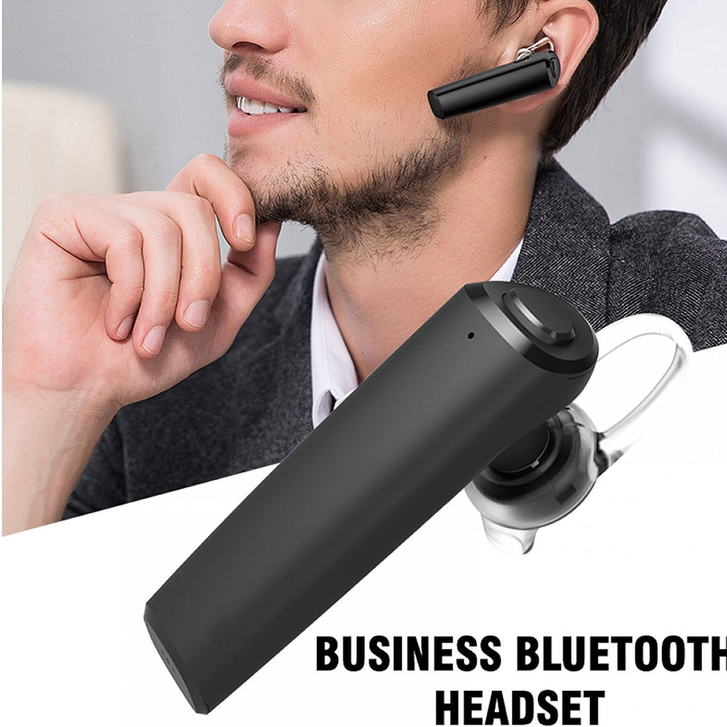 Business Smart One Touch Bluetooth Earphone with Mic for Music and Calls EZ308 - EZELLER