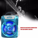 Bluetooth Speaker With LED Light Wireless Stereo Subwoofer 3D Surround EZ309 - EZELLER