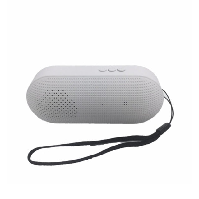 Mobile Accessories Sale/Bluetooth Speakers Music Capsule Compact Portable Bluetooth Speaker EZ330-White - EZELLER