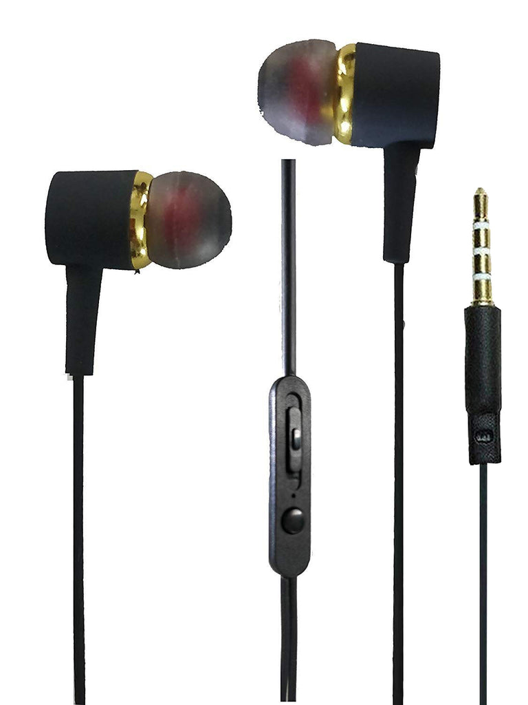 BSPOWER Music Wear Air Bass Earphone With Mic Matty look Universal Headphone EZ380 - EZELLER