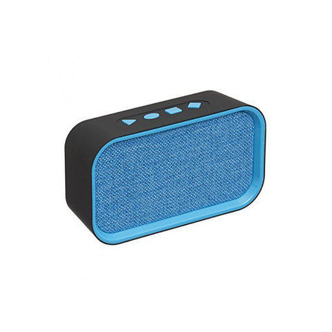 BSPOWER Music Power Portable Bluetooth Speaker with FM USB TF SLOT EZ395-BLUE - EZELLER