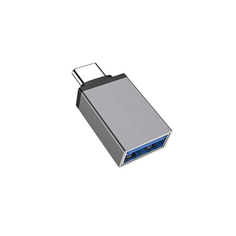 Type C-01 to USB OTG - Type C OTG Metal Adapter - Type C to USB A Converter Data - EZELLER