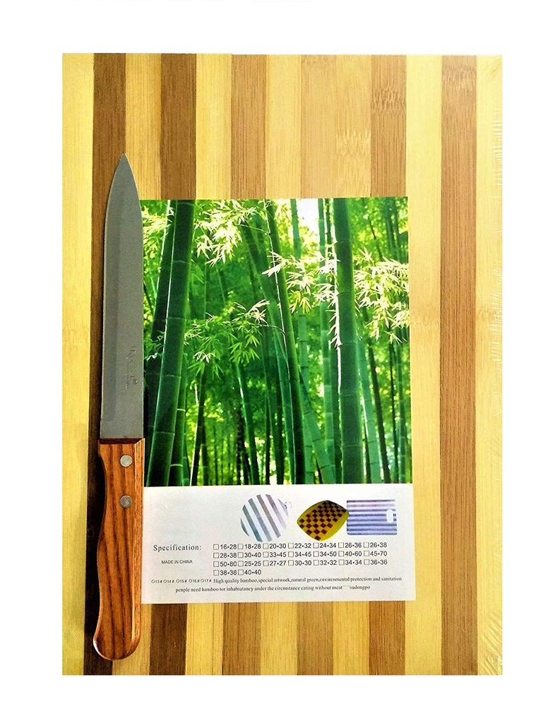 Best Chef Wooden Knife ( Large ) Gladiator Series Rocket German Stainless Steel - EZELLER