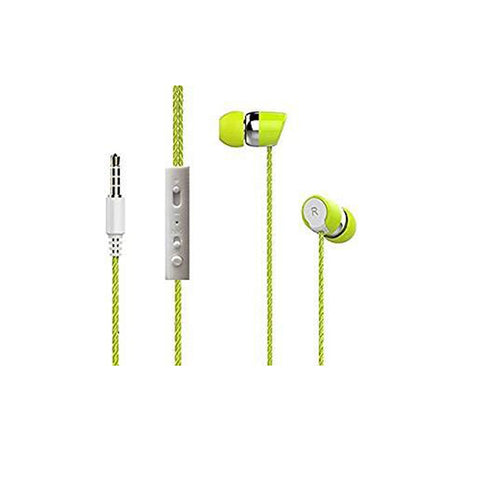 3n1 Earphone Universal Supported 3.5 mm jack EZ412 Yellow - EZELLER