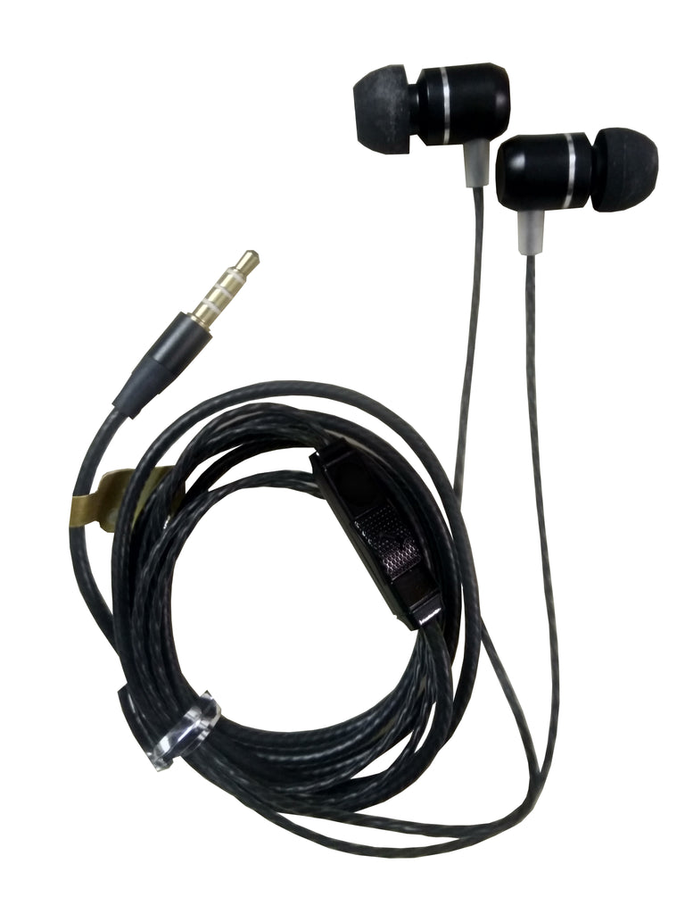 SUPERCAP EZ418 Dolby Stereo Metal Earphone with Mic for Calls and Music